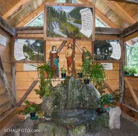 Heilige Drei Brunnen in Trafoi