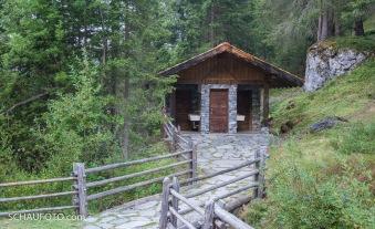 Komfort-WC in der Wildnis