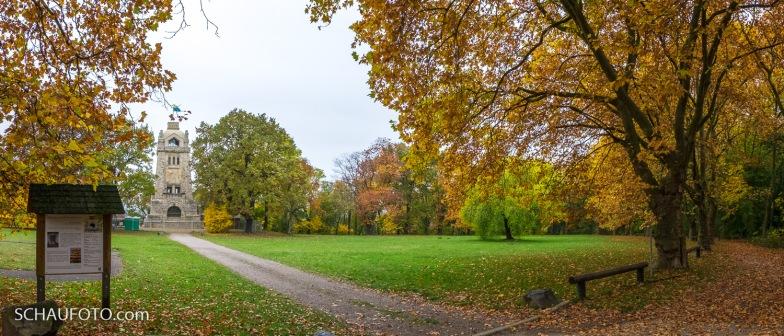 Klemmberg-Park mit Bismarckturm