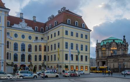 Dresden, später Nachmittag