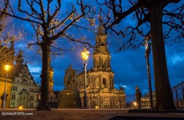 Dunkelblau Dresden