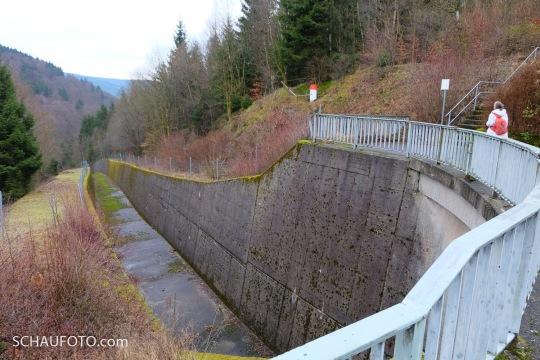 Hochwasserabflusskanal