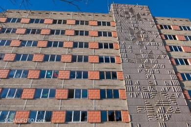 Nach all den Jahren: Fassade ohne nennenswerte Kratzer.