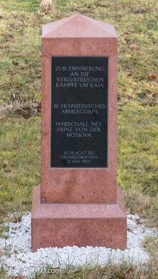 Auch der ehemalige Feind darf hier sein Denkmal haben.