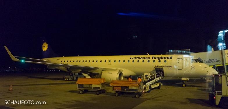 Der schöne Brasilianische E-Jet gilt als Raumwunder.