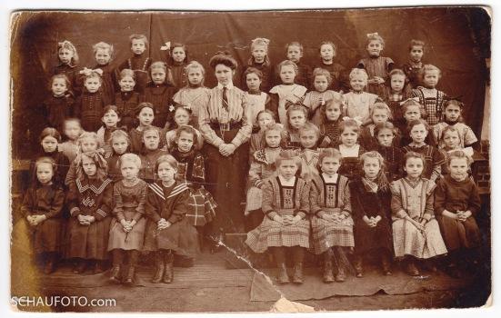 Schulklasse in Nordhausen, 1910