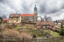 Doch dann kommt das erste echte Highlight: Die Klosterkirche Thalbürgel.