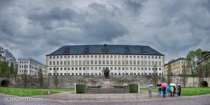 """""""Friedenstein"""", Front zur Altstadt"""