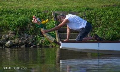 Ist das ein Drachenboot? - Jetzt schon!