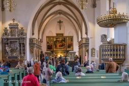 Cranachaltar in der Stadtkirche