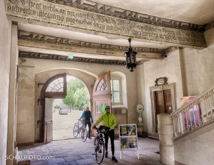 Eingang Lutherhaus/Augusteum