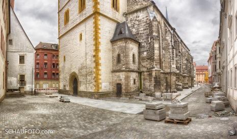 An der Marienkirche am 8.4.2017