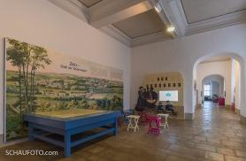 Die Kinderwagenstadt Zeitz im Museum.